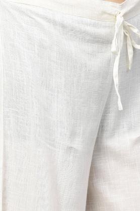 Womens Notched Collar Printed Kurta and Palazzo Set