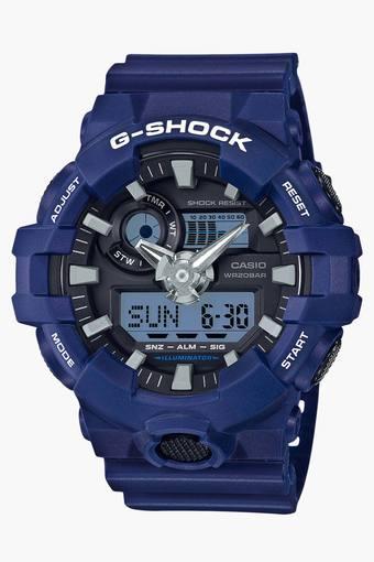 Mens GA-700-2ADR (G741) G-Shock Analog-Digital Watch
