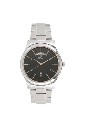 Mens Analogue Metallic Watch