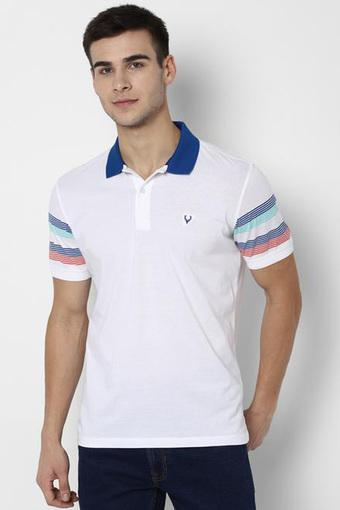 ALLEN SOLLY -  White T-Shirts & Polos - Main