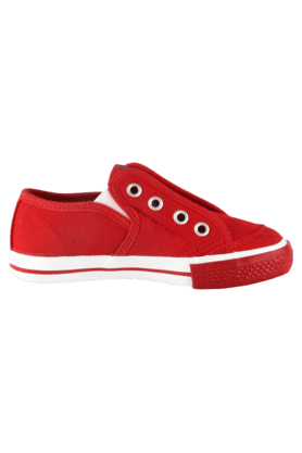 Boys Casual Lace Up Canvas Sneaker