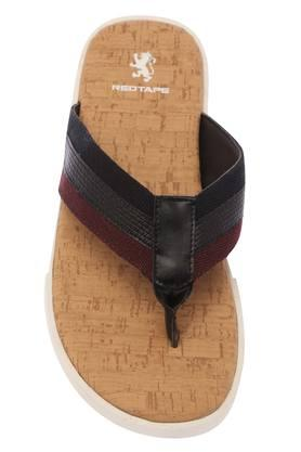 RED TAPE - Black Flip Flops - 2