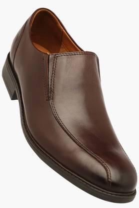 Clarks Ladies Formal Shirts (Men's) - Mens Slipon Smart Formal Shoes