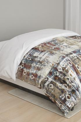 Printed Bamboo Charcoal Double Quilt
