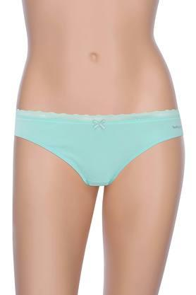 Womens Solid Bikini Briefs - Pack Of 2