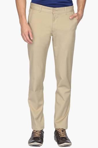 UNITED COLORS OF BENETTON -  Dark GreenCasual Trousers - Main