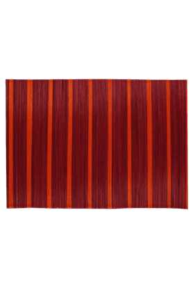 BACK TO EARTH Brown Stripes Placemat