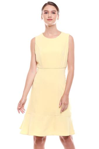 ALLEN SOLLY -  Yellow Dresses - Main