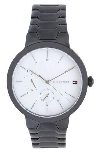 Womens White Dial Metallic Analogue Watch - TH1782078