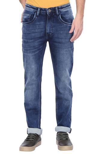 C111 -  Mid BlueFormal Trousers - Main