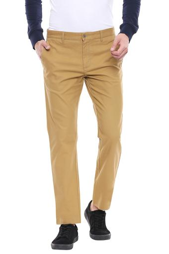 BLACKBERRYS -  Khaki Formal Trousers - Main