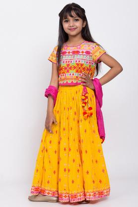 BIBA GIRLS - YellowIndianwear - 3