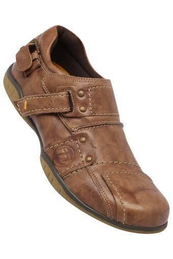 Mens Velcro Closure Casual Shoes