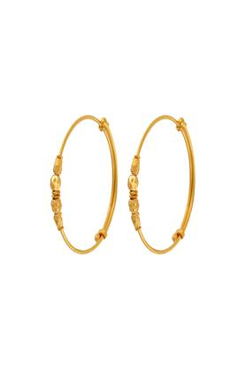 WHP JEWELLERS Womens Yellow Gold Bangles For Kids GBRD15063008