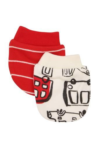 MOTHERCARE -  Red Mittens & Booties - Main