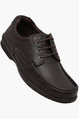 RED TAPE Mens Leather Lace Up Casual Shoes - 202423744_9126