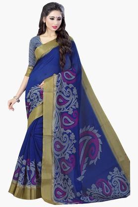 DEMARCAWomens Silk Designer Saree - 202338154