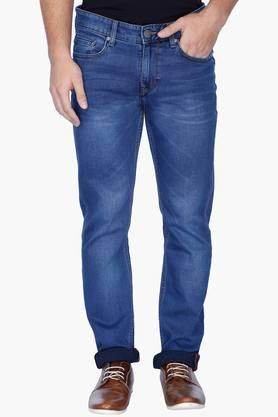LOUIS PHILIPPE JEANS Mens Slim Fit Mild Wash Jeans ( Colorado Fit) - 201293964