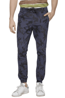 VETTORIO FRATINI Mens Printed Cotton Chinos