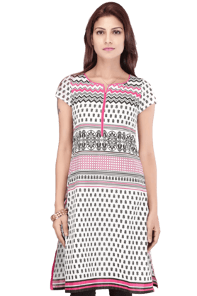 STOP Women Cotton Kurta - 9860553