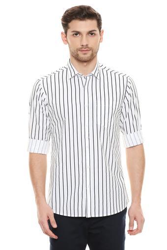 FRATINI -  WhiteCasual Shirts - Main