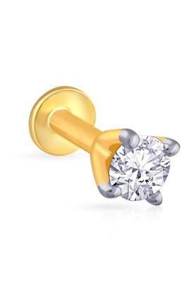 MALABAR GOLD AND DIAMONDSWomens Mine Diamond Nosepin NP71022