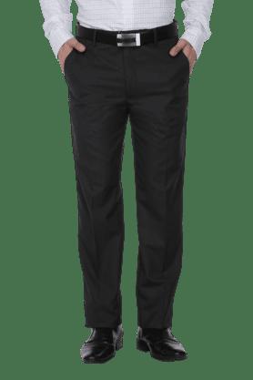 LOUIS PHILIPPEMens 4 Pocket Flat Front Slim Fit Solid Formal Trouser