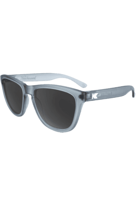 KNOCKAROUND Premium Unisex Sunglassess Frosted Grey/Smoke-PMSK2003 (Use Code FB20 To Get 20% Off On Purchase Of Rs.1800)