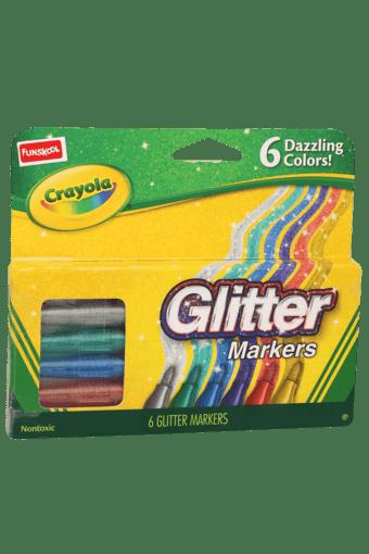Unisex Crayola Glitter Marker Set of 6