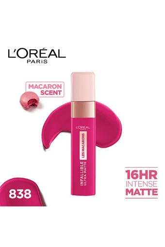 LOREAL -  838 Berry Cherie ( Pink ) Lips - Main
