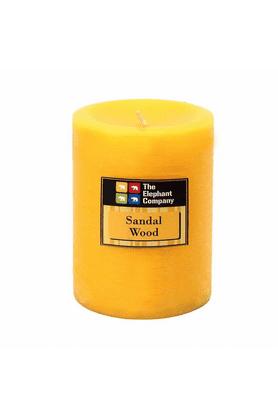 THE ELEPHANT COMPANYPillar Candles - Scented Sandalwood