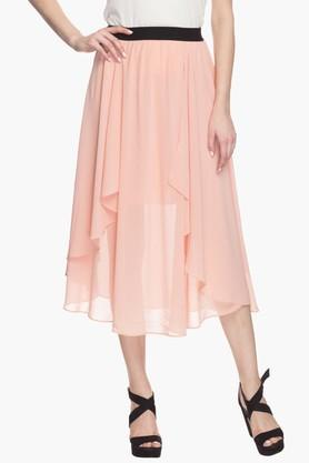 EXCLUSIVE LINES FROM BRANDS Womens Layered Skirt