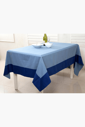 MASPAR Twill 7 OZ Blue 6 Seater Table Cover