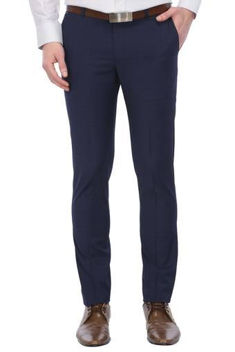 BLACKBERRYS -  Royal Blue Formal Trousers - Main