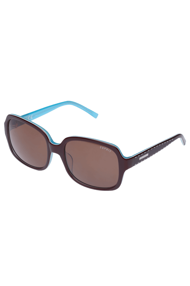 Womens Lifestyle Solid Brown Sunglasses-17835-53557