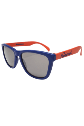 KNOCKAROUND Classic Premium Unisex Sunglasses Orange And Blue/Smoke-PRGL1034 (Use Code FB20 To Get 20% Off On Purchase Of Rs.1800)