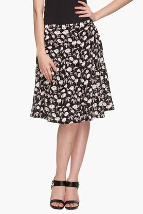 STOP Womens Printed Knee Length Skirt