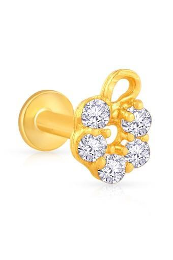 Buy Malabar Gold And Diamonds Womens Gold Nosepin Mgaaaaaaaenk