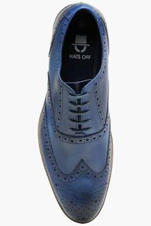 ac5f7b2d66e2d Buy HATS OFF ACCESSORIES Mens Leather Lace Up Brogue Shoes ...