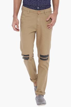 BLUE SAINT Mens Regular Fit Chinos