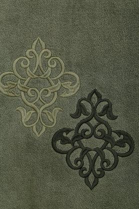 TREASURES - OliveBath Towel - 1