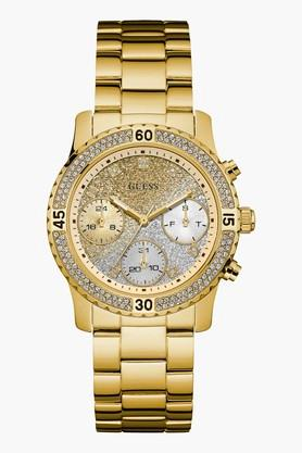 GUESSGold Tone Stainless Steel Confetti Watch W0774L5