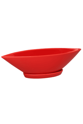 IVY Red Boat Shape Planter