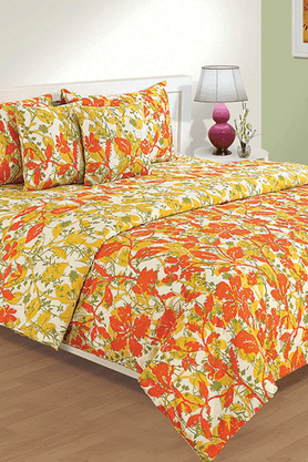 HOUSE THIS Standalone Floral - Single Bed Sheet