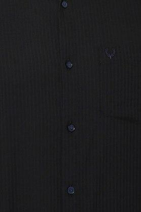 ALLEN SOLLY - BlackCasual Shirts - 4
