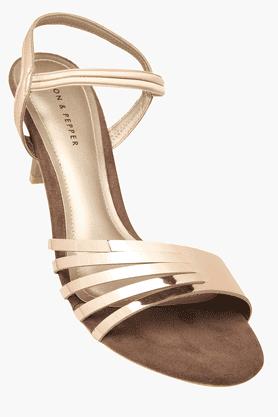 LEMON & PEPPERWomens Party Wear Slipon Heel Sandal - 201088384