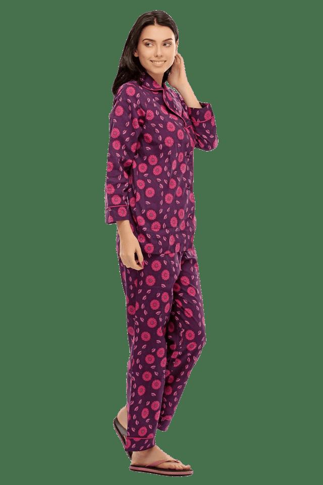 3a94a4d3f7 Buy CLOVIA Two Piece Night Suit In Cute Prints