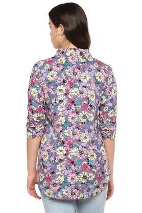 Womens Floral Print Shirt