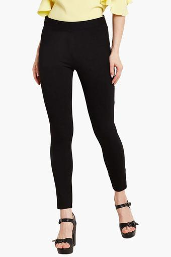 94505bb4f3f56 Buy COVER STORY Womens Solid Jeggings | Shoppers Stop