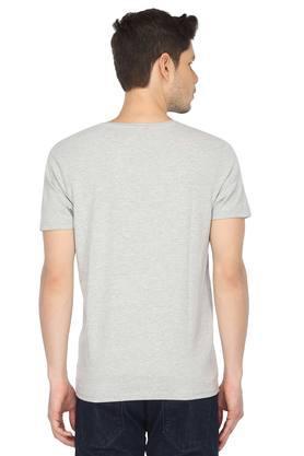 STOP - Grey MelangeT-Shirts & Polos - 1